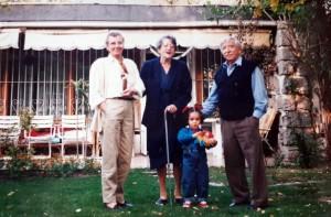 Inge, Helena C. Gisela y Alvarito