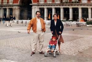 Germán Castro, Helena C. y Gisela